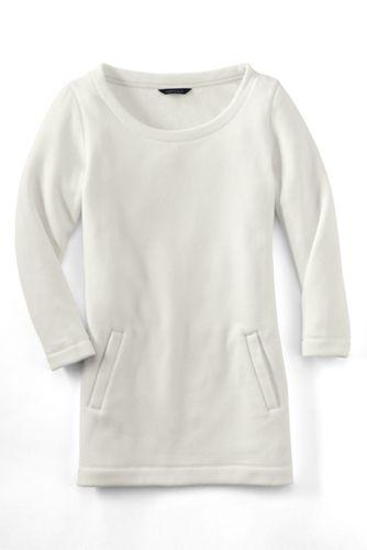 Women's Regular Fleece 3-Quarter Sleeve Tunic