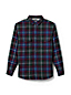 Men's Regular Sherpa-lined Flannel Shirt Jacket