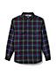 Men's Regular Sherpa-lined Flannel Shirt Jacket