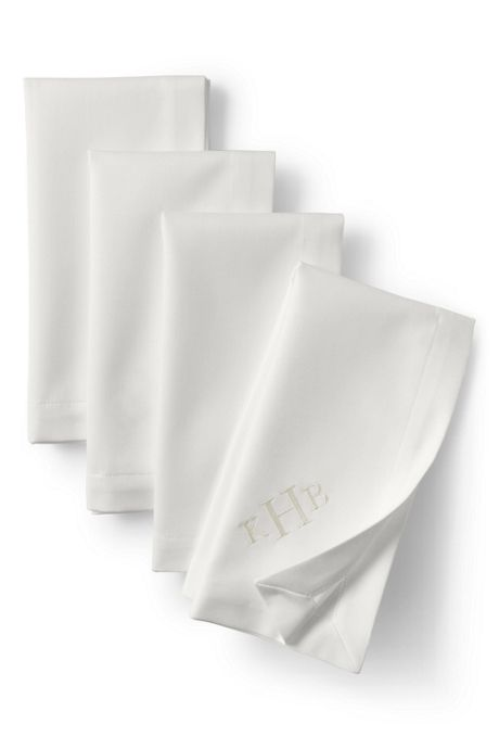 No Iron Napkins (Set of 4)