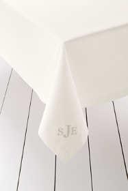 """No Iron Tablecloth 70"""" x 108"""""""