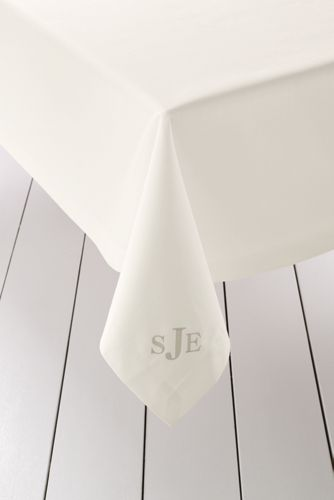 Rectangular Cotton Sateen Tablecloth