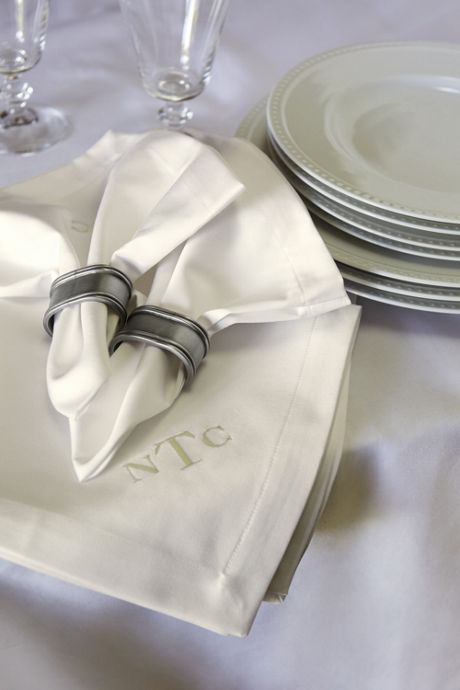 Pewter Napkin Rings (Set of 4)