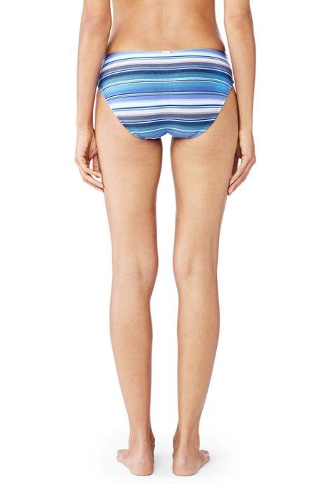 Women's Beach Club Texture Mid Waist Bottoms