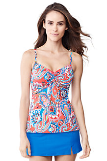Women's Paisley Beach Living Tankini Top