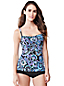Women's Regular Paisley Beach Living Tankini Top