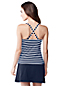 Women's Regular Striped DD-Cup Beach Living Tankini Top