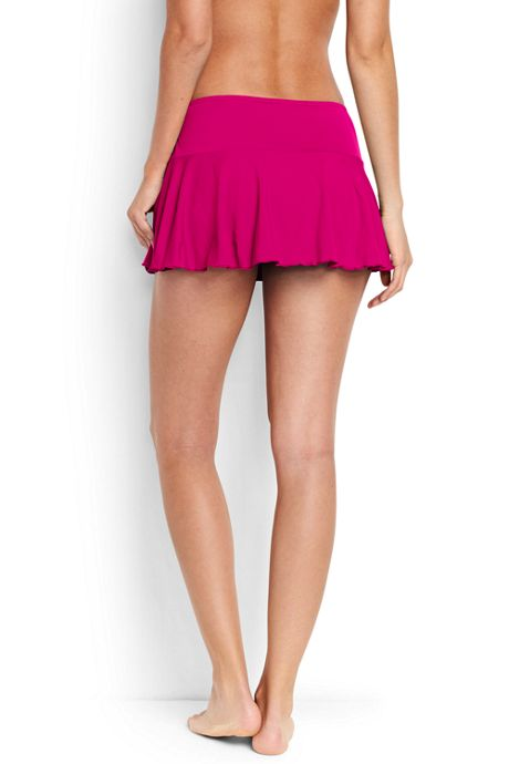 Women's Flounce Mini SwimMini Swim Skirt