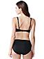 Le Haut de Bikini Uni Bonnets D, Femme Stature Standard