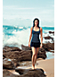 Women's Regular Beach Living Dot Sweetheart Tankini Top