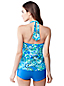Women's Regular Beach Living Paisley Halterneck Tankini Top