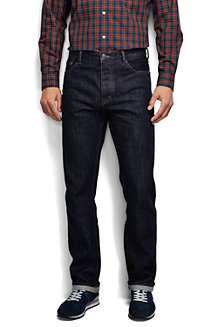 STRAIGHT FIT Jeans aus Selvedge-Denim für Herren