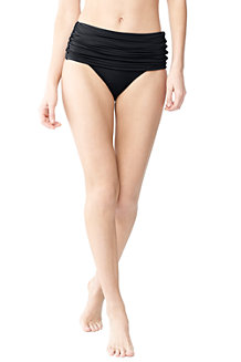 Women's Beach Living Convertible High Waist Bikini Bottoms