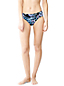Women's Regular Beach Living Mid Rise Paisley Bikini Bottoms
