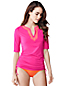 Women' Regular Adjustable Swim Rash Guard