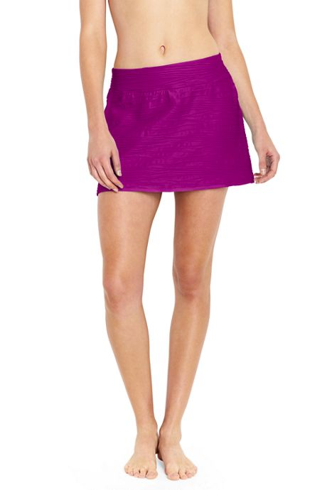 Women's Texture SwimMini Swim Skirt