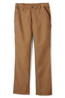 Women's Duckcloth Carpenter Pants, Front