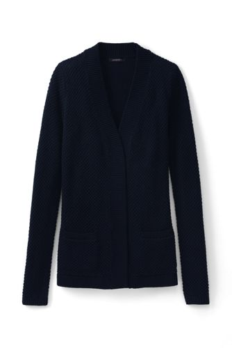 Women's Regular Lofty Open Cardigan