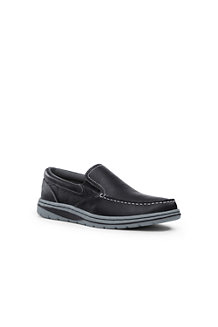Men's Lightweight Comfort Leather Slip-ons