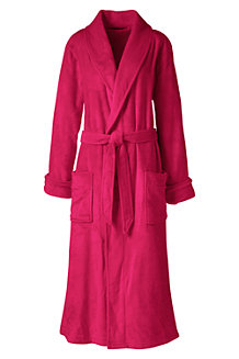 Women's Plush Fleece Dressing Gown