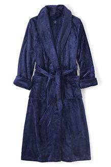 Women's Plush Fleece Dressing Gown