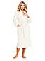 La Robe de Chambre en Polaire Douceur Peluche, Femme Taille Standard