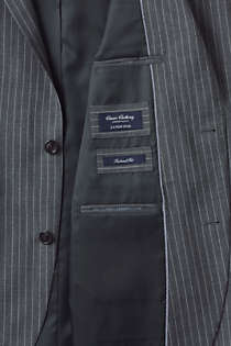 Men's Tailored Fit Wool Year'rounder Suit Jacket, Unknown