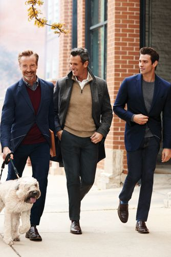 Men's Fine Gauge Cashmere Quarter Zip