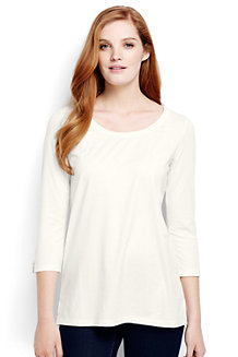 Women's Trimmed Scoop Neck Tunic