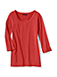 Women's Regular Trimmed Scoop Neck Tunic