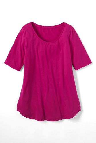 Women's Regular Cotton/Modal Scoop Neck Tunic