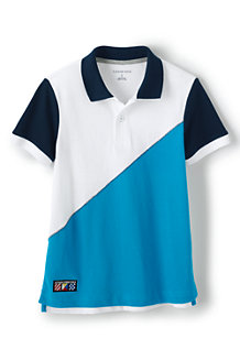 Boys' Colourblock Piqué Polo