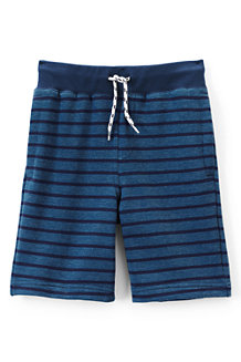Boys' Loopback Jersey Stripe Shorts