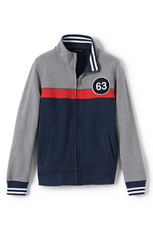 Boys'  Zip-front Sweatshirt Jacket