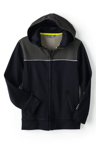 Little Boys' Active Zip-front Hoodie