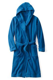 Boys' Hooded Fleece Dressing Gown