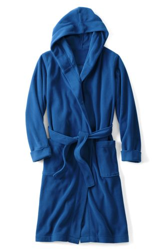Boys' Hooded Fleece Dressing Gown
