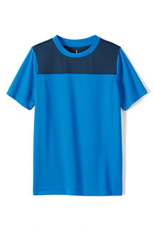 Boys' Short Sleeve Colourblock Active Tee