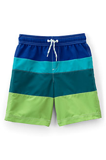 Boys' Colorblock Swim Trunk