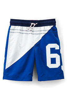 Boys' Appliqué Swimming Trunks