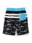 Toddler Boys' Patterned Colourblock Swim Shorts