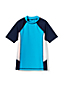 Little Boys' Short Sleeve Colourblock Rash Vest