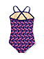 Little Girls' Pretty Polynesia Ruffle Swimsuit