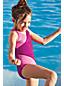 Colorblock-Badeanzug für kleine Mädchen