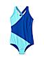 Little Girls' Smart Swim Colourblock Swimsuit