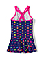 Toddler Girls' Smart Swim Wrap One Piece