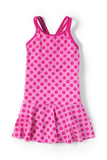 Girls' Smart Swim Smart Swim Skirted Swimsuit