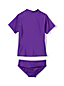 Toddler Girls' Rash Guard top and ruffle bottoms