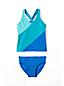 Little Girls' Smart Swim Colourblock Tankini