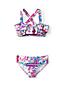 TROPENPARADIES Bikini mit Rüschen für kleine Mädchen